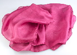 Buy cochineal-dyed pure silk scarves from Cochineal Dye . com
